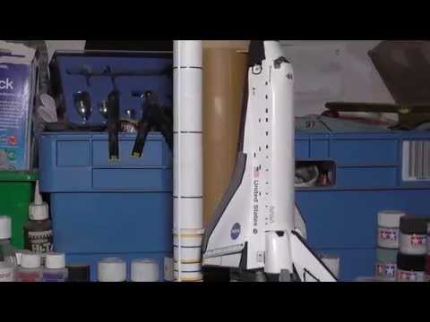 how to draw a space shuttle launch