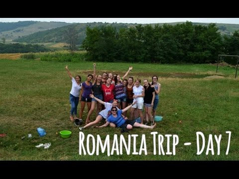 Romania Trip (Day 7) - WATER FIGHTS AND WONDERFUL DONATIONS!