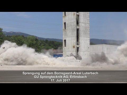 Sprengung für Biogen-Neubau in Luterbach
