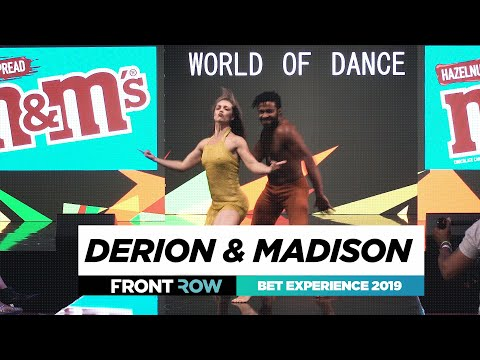 Derion & Madison | World Of Dance | BET Experience 2019