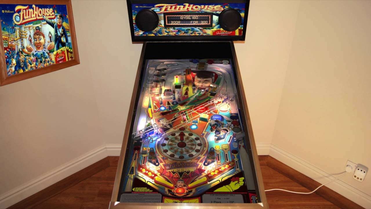 The Pinball Arcade - Funhouse (Cabinet Play Mode) - YouTube