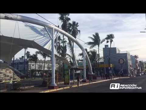 Instalación velaria Mazatlán