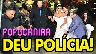 CASAMENTO DA LEXA TEVE POLÍCIA E TROMBADINHA NA PORTA