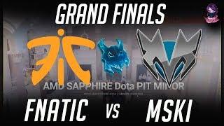 Скачать Grand Final Fnatic Vs Mineski Dota PIT Minor Quali Highlights Dota 2 By Time 2 Dota Dota2