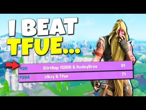 I Beat Tfue in the World Cup Qualifiers...