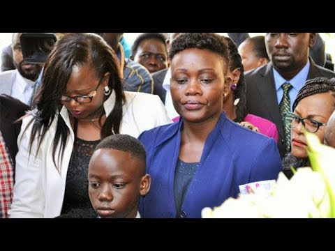 Mourners demand justice for murdered Msando at requiem mass