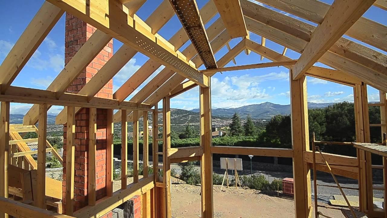 Construyendo una casa de madera canexel youtube for Como construir piletas de material