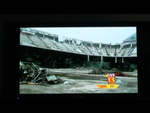 The RCA Dome Demolition
