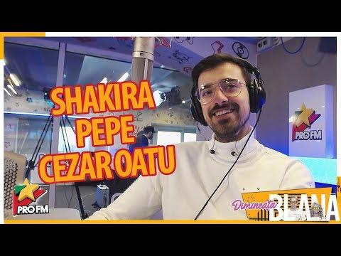 LIVIU TEODORESCU îi imită pe Shakira, Pepe și Cezar Oatu | #DimineataBlana