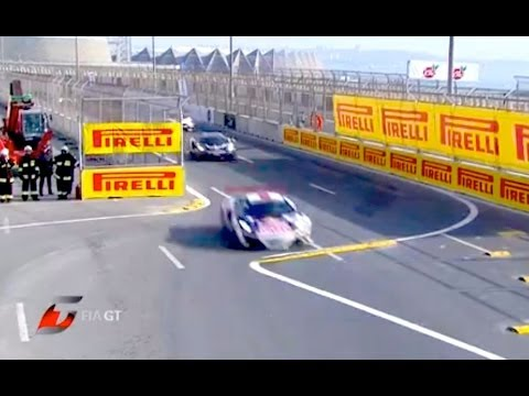 FIA GT Series - Azerbaijan - Baku Event Highlights 2013