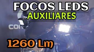 🔌FOCOS LED auxiliares PARA MOTO