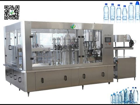 automatic water bottling machine juice rising filling capping equipment