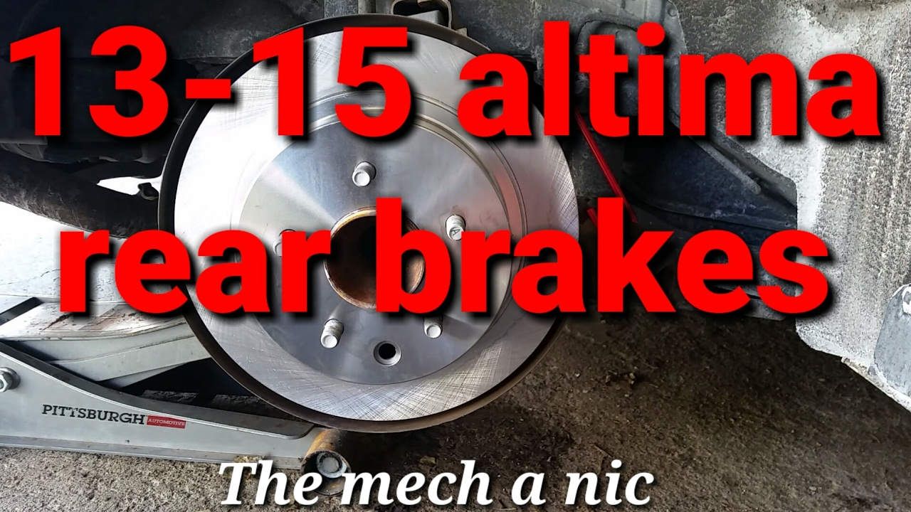 Nissan Sentra Service Manual: Rear disc brake