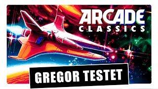Gregor testet Konami Arcade Classics Anniversary Collection für Nintendo Switch (Review / Test)