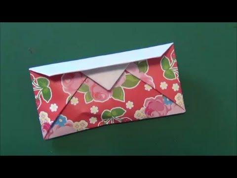 ハート 折り紙:財布 折り紙-youtube.com