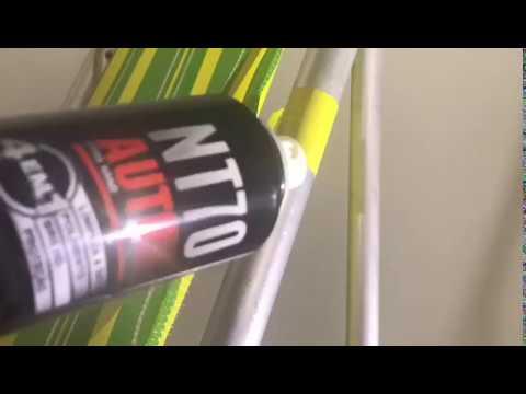 NT70 Aerossol - Polimento das partes cromadas