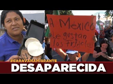 Migrante hondure�a que rechaz� frijoles se encuentra desaparecida #CaravanaMigrante