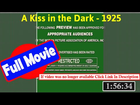 [ *FuII* ]- A Kiss in the Dark (1925) |[ 6398040rzdmsd]
