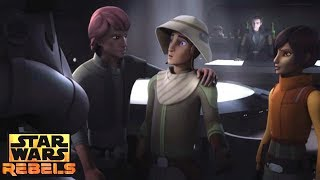 Star Wars Rebels: Ezra's and Sabine goes to an Imperial Bar