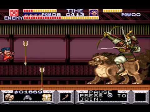 Legend of the Mystical Ninja - Boss Rush