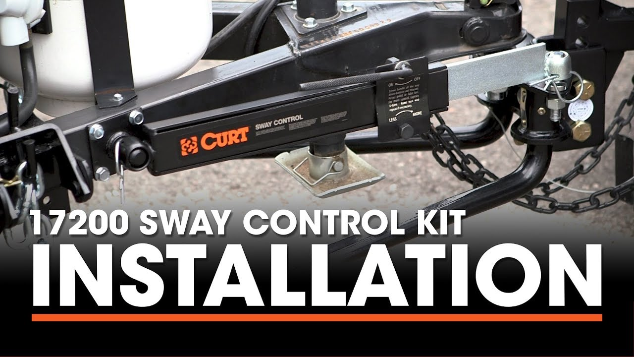 Weight Distribution Trailer Hitch Install Curt 17200 Sway Control Kit