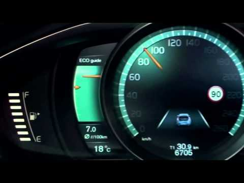 The All-New Volvo V40: Active TFT Display