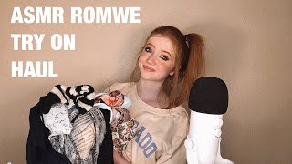 ASMR Clothing Try On Haul - Life With MaK x Romwe x The Powerpuff Girls