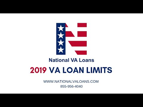 2019 VA Loan Limits – VA County Loan Limits