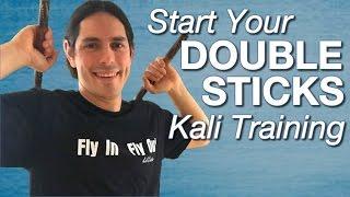 vuclip Escrima DOUBLE STICK - Sinawali Drills to Explode Your Skills