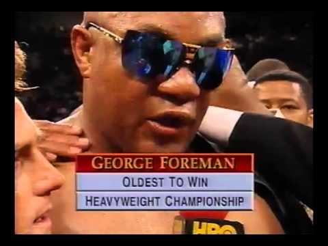 The Impossible Dream Fulfilled - George Foreman KO 10 Michael Moorer