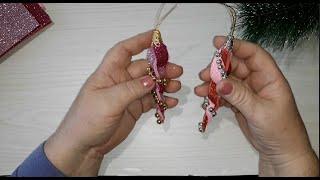 Новогодние елочные украшения из фоамирана. От скуки на все руки. Рукоделие.