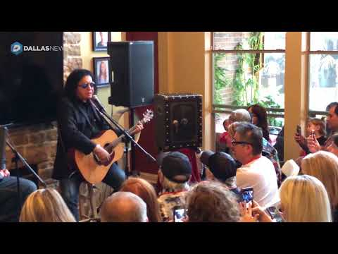 Gene Simmons performs at Frisco home