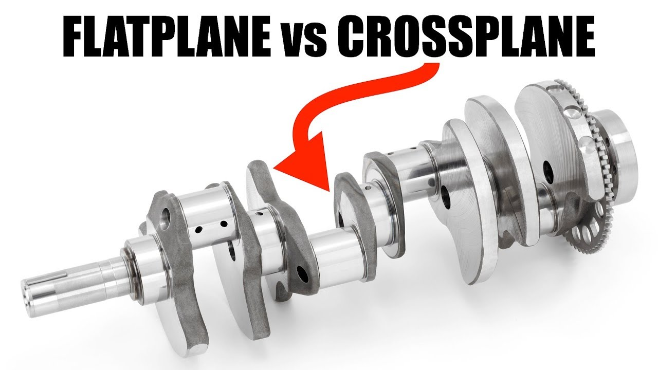 Flatplane vs Crossplane V8 Engines - Which Is Best? - YouTube