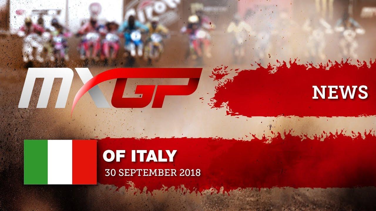 Mxgp Calendario 2020.News Highlights Mxgp Of Italy 2018 Motocross