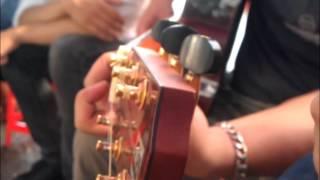 Gánh hàng rau - Rơi tự do - Ngẫu hứng guitar trà đá