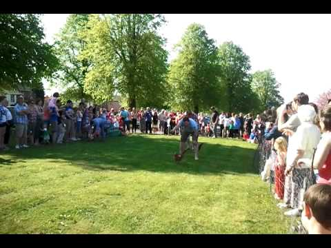 Dufton chicken race 2011