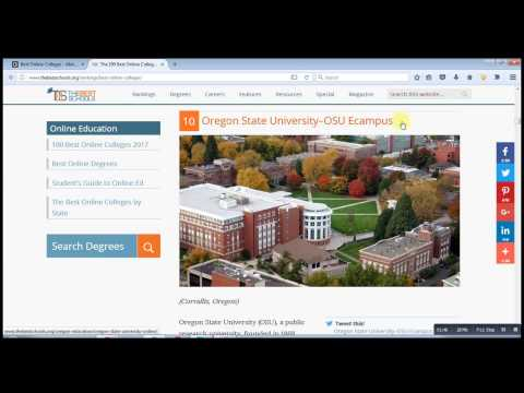 The 100 Best Online Colleges for 2017