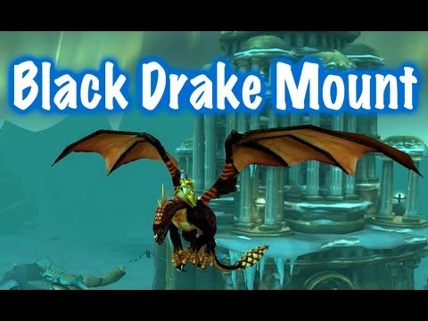 Black Drake, Mount Guide (World of Warcraft