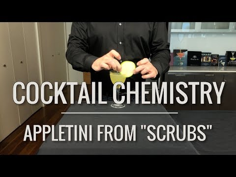 """Recreated - The Appletini from """"Scrubs"""""""