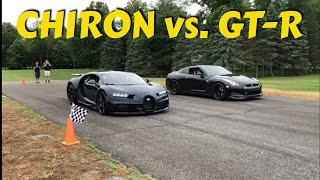 Turbo Mike R35 GTR vs. Bugatti Chiron