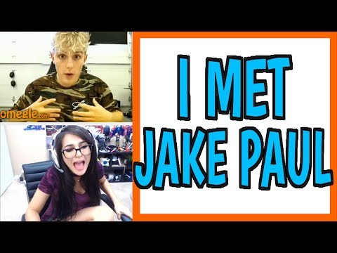 Thumbnail: MEETING JAKE PAUL ON OMEGLE
