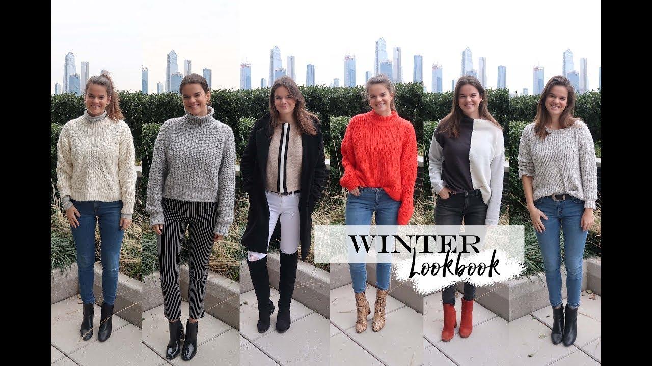 Winter LOOKBOOK | 6 Cozy Winter Outfit Ideas | 2018 1