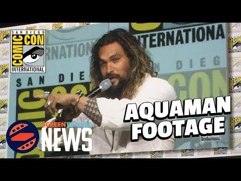 Jason Momoa Spills Aquaman Footage at Comic Con! - SDCC 2017