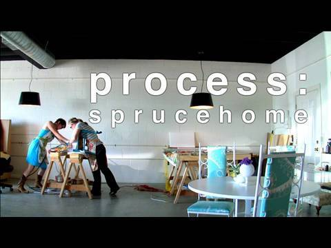 Process: Upholstery with Spruce Home