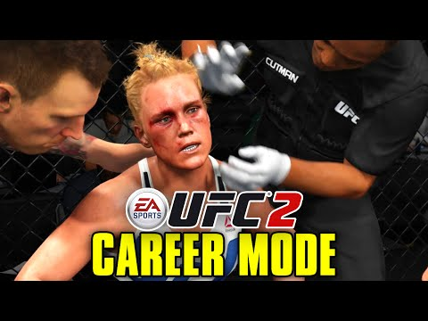 "UFC 2 Career Mode - Ep. 8 - ""BLOODY WAR WITH HOLLY HOLM!!"" (Series 2)"