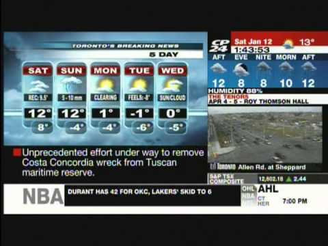 CP24 - Weather Report featuring Project Winter Survival ...