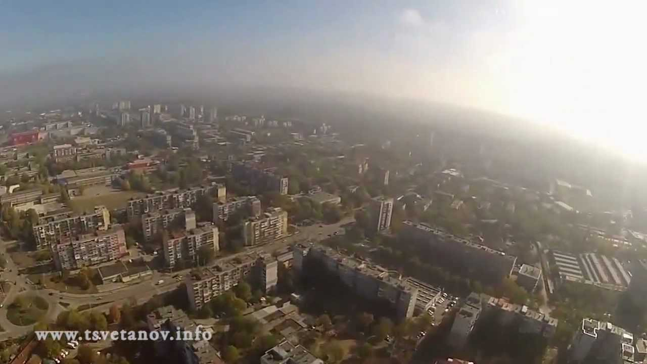 Полет над Русе! Страхотни кадри, заснети от самолет!