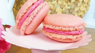 Himbeer Macarons (perfekt für Muttertag und gelingsicher)