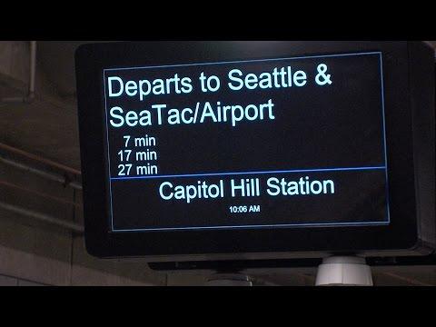 New Light-Rail Stations open in Seattle