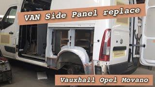 Van side panel replacement